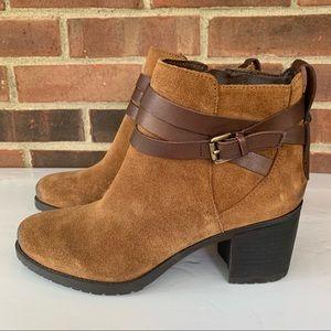 Sam Edelman tan leather booties